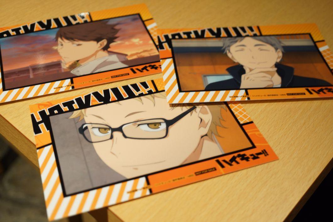 ハイキュー!! J-WORLD フード注文でポストカードがもらえる件 -ゴロゴロ生活-