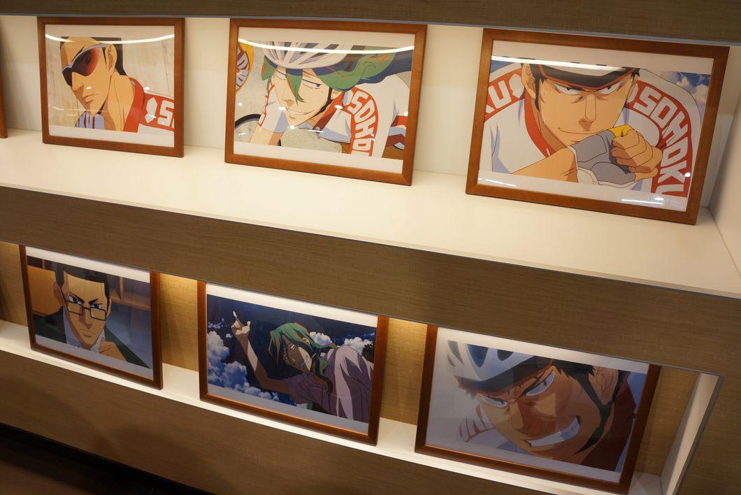 弱虫ペダル グッドスマイル×アニメイトカフェ in 秋葉原 荒北の引きが良かった件 -ゴロゴロ生活-