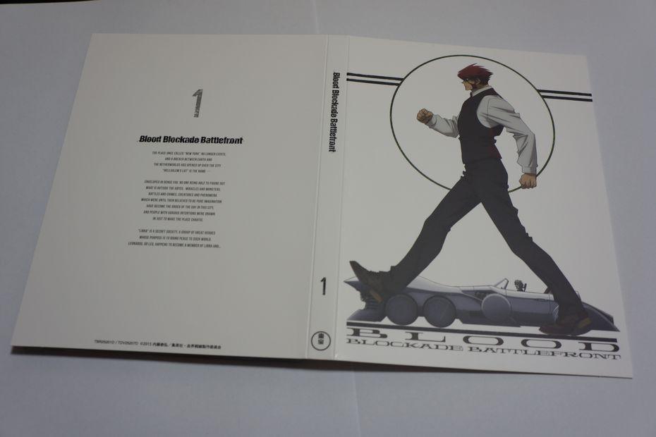 血界戦線 Blu-ray vol.1初回生産限定版の描き下ろしマンガに心が和んだ件 ゴロゴロ生活