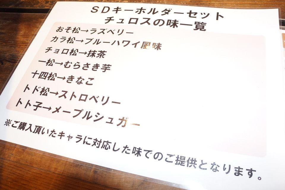 チュロスターおそ松さんコラボ初日 抽選からグッズ購入までの一部始終 -ゴロゴロ生活-