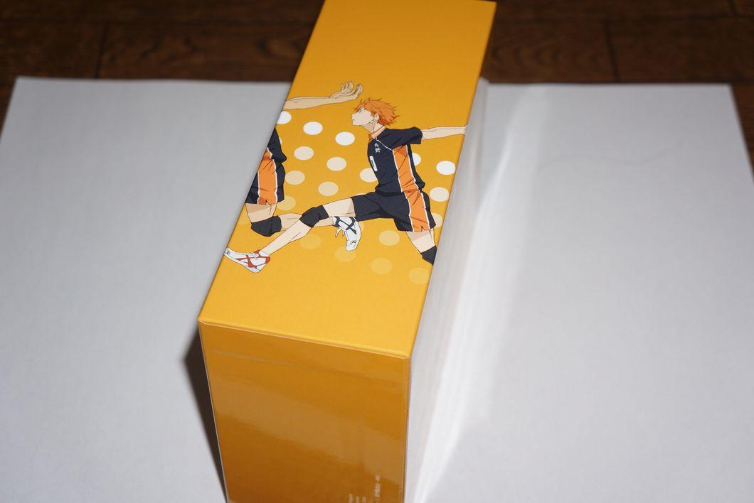 ハイキュー!! Blu-ray vol.4 アニメイト特典収納BOXに入れるとやっぱりキレイな件-ゴロゴロ生活-