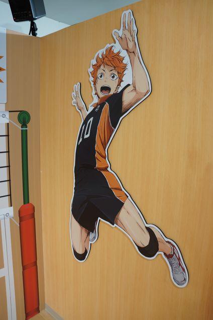 ハイキュー!! J-WORLD 烏野高校排球部室ロッカーから伺えるマネージャー愛 -ゴロゴロ生活-