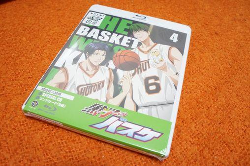 黒子のバスケ Blu-ray 4巻 -ゴロゴロ生活-