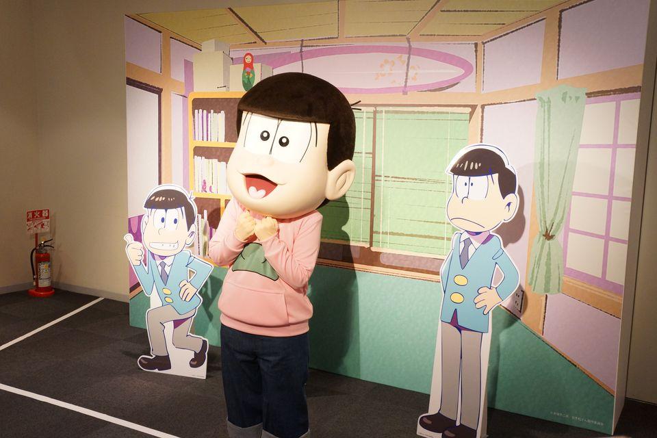 おそ松さん 春の松の市 キャラクターマスコット登場に一同笑顔になっていた件 -ゴロゴロ生活-
