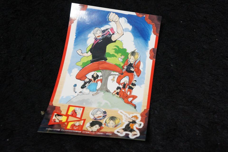 ハイキュー!! コミックス15巻 リエーフDVD付き予約限定版はこんな感じ -ゴロゴロ生活-
