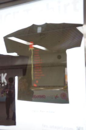 うたプリ 池袋サンシャイン地下通路 Tシャツサンプル展示 -ゴロゴロ生活-
