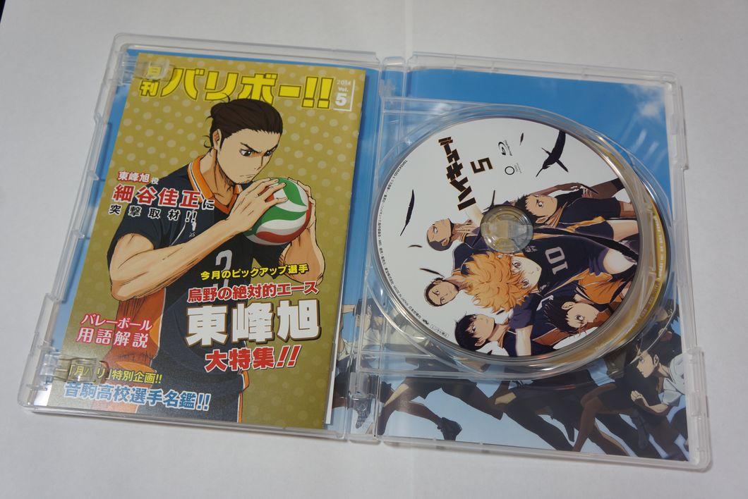 ハイキュー!! Blu-ray vol.5 縁下先輩メインのドラマCDが何とも言えない件 -ゴロゴロ生活-